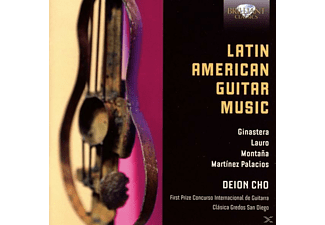 Deion Cho - Latin American Guitar Music - (CD)