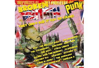 VARIOUS - Britian Punk-The Only Did It Cos Of Fame! - (CD)
