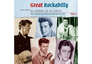 VARIOUS - Great Rockabilly - Just About As Good As It Gets! Vol.5 - (CD)