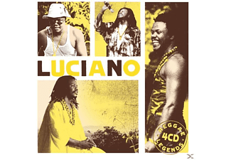 Luciano - Reggae Legends (4cd Box) - (CD)