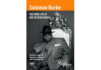 Solomon Burke - The King Live At Avo Sessions - (DVD)