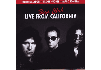 Glenn Hughes, Emerson, Keith / Bonilla, Marc / Hughes, Glenn - Boys Club-Live From L.A. - (CD)