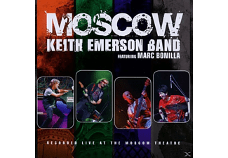 Keith Emerson - Moscow - (CD)