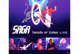 Saga - Heads Or Tales:Live - (CD)