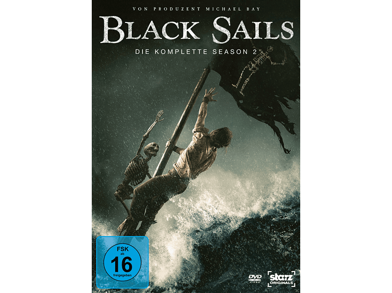 Black Sails - Staffel 2 [DVD]