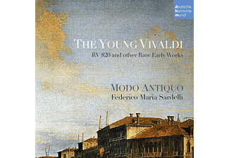 Modo Antiquo - The Young Vivaldi - (CD)