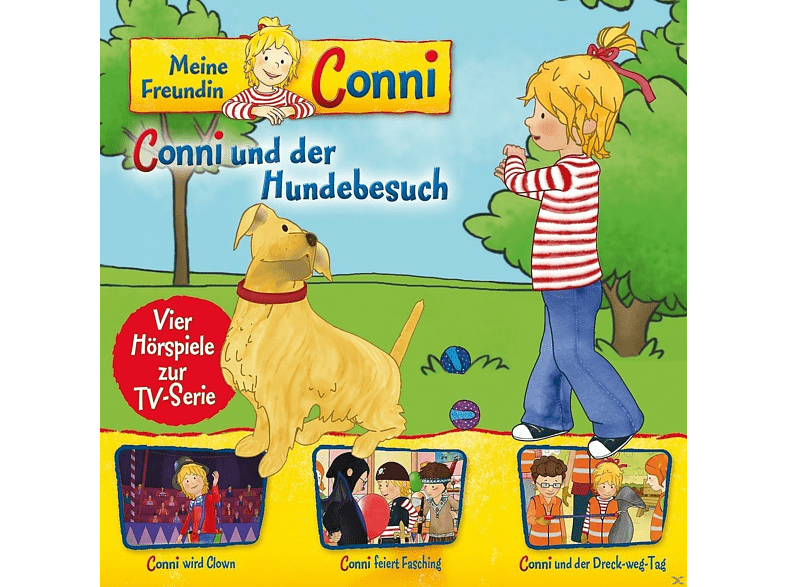 KARUSSELL Folge 9: Conni Hundebsuch/Clown/Fasching/Dreck-Weg-Tag