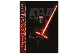 "Star Wars Fleecedecke ""kylo Ren"" Episode 7 Bedruck"