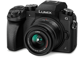 PANASONIC Hybride camera Lumix DMC-G7 + 14-42mm