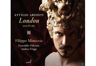 Filippo Mineccia - London-Arien für Alt - (CD)