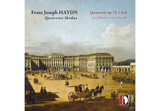 Quartetto Modus - Quartette Op.76, Nr. 1, 4 & 6 - (CD)