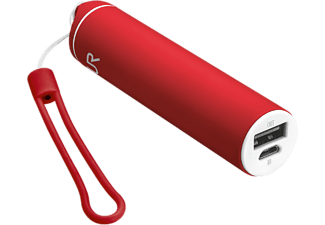 TRUST Stilo Powerstick Portable 2600 mAh Rood