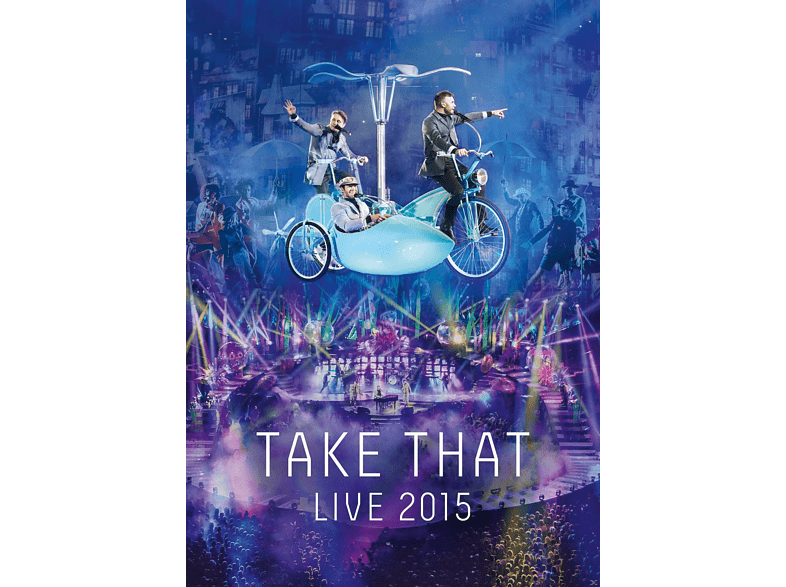 Take That - Live 2015 [DVD]