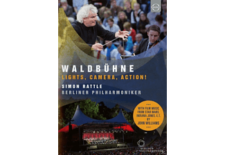 Sir Simon Rattle, Berliner Philharmoniker - Waldbühne Berlin-Lights, Camera, Action! - (DVD)