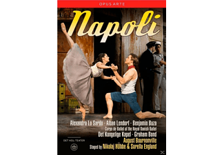 VARIOUS, The Royal Danish Ballet, Det Kongelige Kapel - NAPOLI - (DVD)