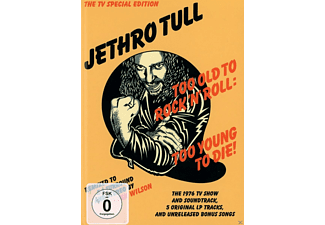 Jethro Tull - Too Old To Rock 'n' Roll:Too Young To Die! - (CD + DVD Video)