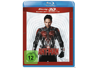 Ant-Man Action 3D BD&2D BD, Blu-Ray