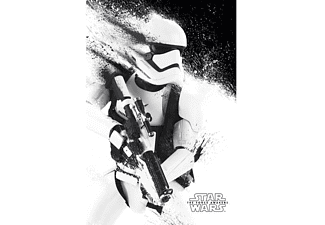 Star Wars: Episode 7 Poster Stormtrooper Paint