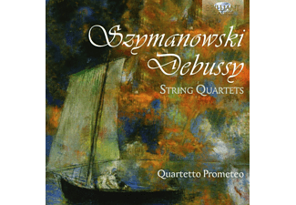 Quartetto Prometeo - Szymanowsky & Debussy: String Quartets - (CD)