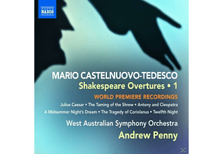 ANDREW & WEST-AUSTRALIAN SO. Penny - Shakespeare Overtures Vol.1 - (CD)