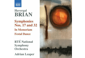 Adrian & Rte National So Leaper - Sinfonien 17+32 - (CD)