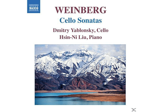 Ning Lu, Dmitry Yablonsky, Liu Hsin-ni, Yablonsky,Dmitry/Liu,Hsin-Ni - Cellosonaten - (CD)