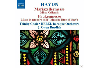 Trinity Choir, Rebel Baroque Orchestra, Burdick, Burdick/Rebel Baroque Orchestra - Mariazellermesse/Paukenmesse - (CD)