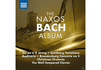 VARIOUS - The Naxos Bach Album - (CD)