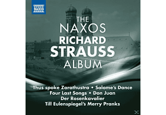 VARIOUS - The Naxos Richard Strauss Album - (CD)
