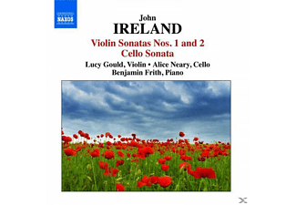 Benjamin Frith, Lucy Gould, Alice Neary, Gould,Lucy/Neary,Alice/Frith,Benjamin - Violinsonaten 1+2/Cellosonate - (CD)