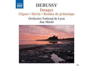Achille-Claude Debussy, Joseph-Maurice Ravel, Jun Märkl, Lyon National Orchest, Jun & Orchestre National De Lyon Märkl - Images/Gigues/Iberia/Rondes - (CD)