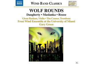 Green, Frost Wind Ensemble, Green/Frost Wind Ensemble - Wolf Rounds - (CD)