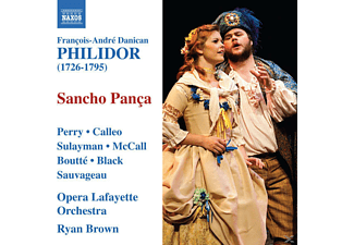 VARIOUS, Ryan Brown, Opera Lafayette Orchetra, Brown/Perry/Calleo/Opera Lafayette - Sancho Pança - (CD)