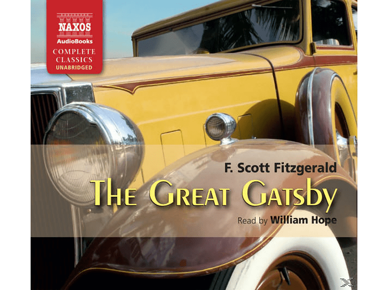 William Hope - The Great Gatsby - (CD)