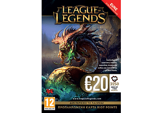 League Of Legends Pre-Paid Card
