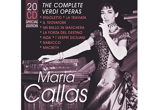 Maria Callas, VARIOUS - The Complete Verdi Operas - (CD)