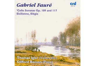 IGLOI, THOMAS/BENSON, CLIFFORD - Faure Cello Sonatas - (CD)