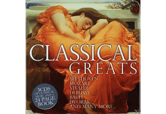VARIOUS - Classical Greats (Lim.Metalbox Ed.) - (CD)
