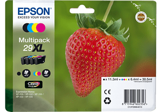 EPSON Multipack 29XL Claria Home Ink Y/C/M/BL
