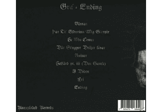 Gra - Ending (Digipak) [CD]