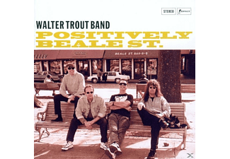 Walter Band Trout - POSITIVELY BEALE STREET - (CD)