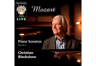 Christian Blackshaw - Mozart Piano Sonatas 4 - (CD)