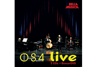 Os4 Opera Swing Quartett - Os4 Live - (CD + DVD)