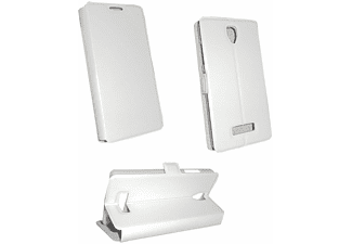 VOLTE-TEL ΘΗΚΗ LENOVO A2010 LEATHER BOOK-STAND White - (5205308153105)