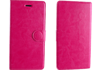 "VOLTE-TEL ΘΗΚΗ UNIVERSAL 5.0""-5.7"" LEATHER BOOK MAGNET 3M Pink - (8156090)"