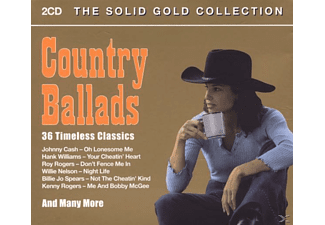 VARIOUS - Country Ballads - (CD)