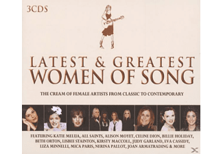 VARIOUS - Latest & Greatest Women Of Song - (CD)