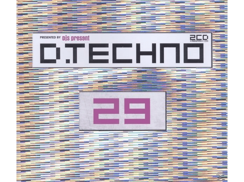 VARIOUS - D.Techno 29 [CD]