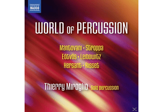 Thierry Miroglio - The World Of Percussion - (CD)