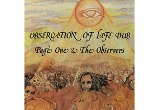 Page One & The Observers - Observation Of Life Dub [CD]